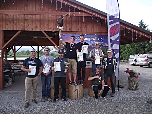 Muchowe Mistrzostwa Okręgu PZW Częstochowa 12.06.2016 r., Soła - Łowisko Moszczanica.