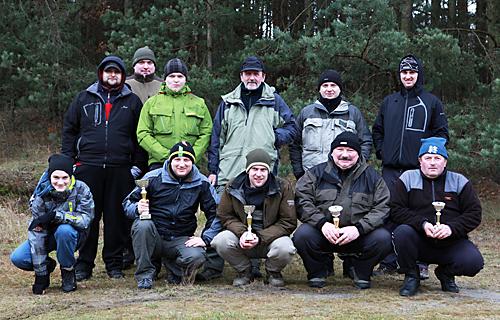 Zakończenie sezonu - Krztynia 21.12.2014 r.